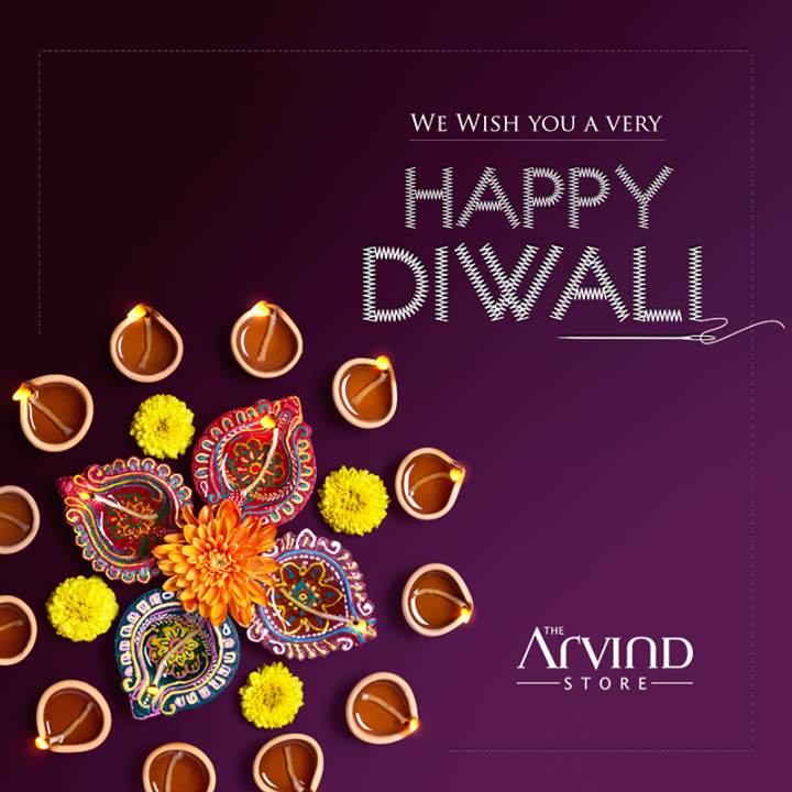 This festive season, make space for custom made clothes and let those ill fitted clothes go out of the window. Celebrate Diwali looking sharp.What's more? Enticing offers at the Arvind Store near you #HappyDiwali