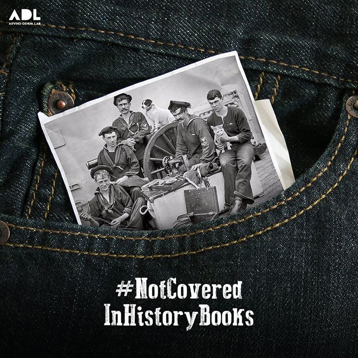 """The word 'jeans' comes from the cotton pants worn by """"Genes,"""" the local term for Genoan sailors. #Didyouknow"""