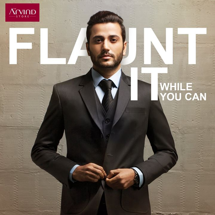 Bring in your New Year on a #HighNote with up to 40% discount at The Arvind Store. Need another reason to turn your #FlauntModeOn