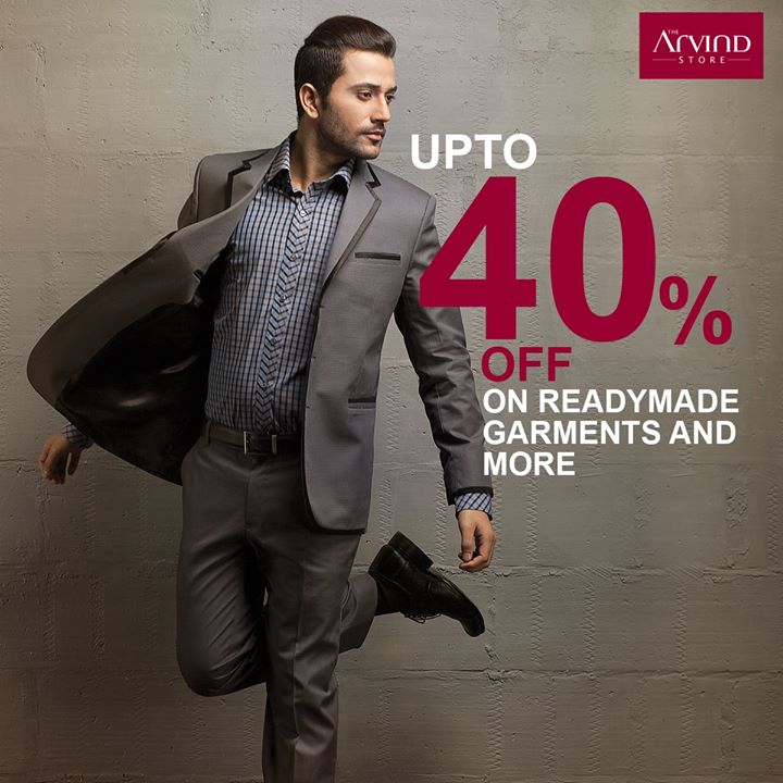 With a discount of upto 40%, what's stopping you from getting your #FlauntModeOn