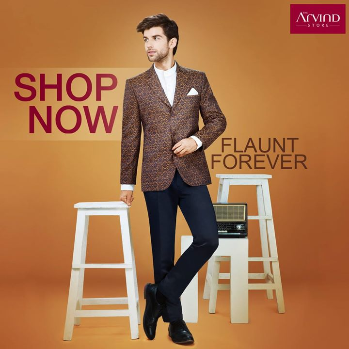 It's difficult to not get your #FlauntModeOn when we are offering FLAT 40% discount on RMG among other offers. Rush to your nearest Arvind Store now!