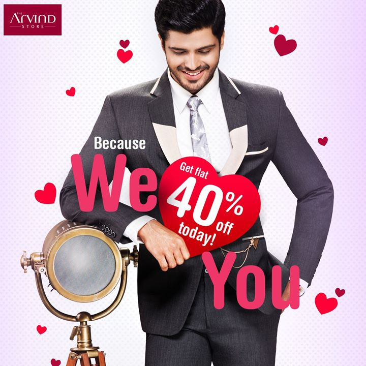 The Arvind Store,  LoveYourself, FlauntModeOn
