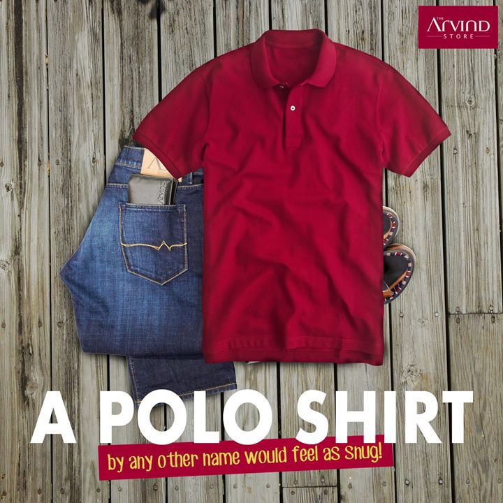 #DidYouKnow The classic Polo Shirt was designed by French tennis legend, Jean Lacoste in the 1920s. Due to its popularity in different sports, it is also called 'Golf Shirt' and 'Tennis Shirt'.