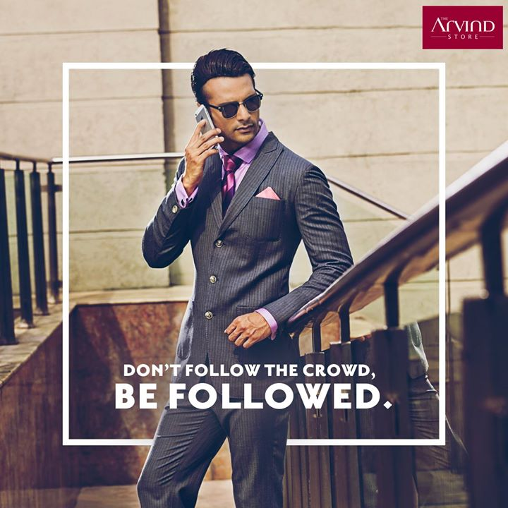 This summer go classic with pinstripes and 3 buttoned suits. #ArvindStyleTips