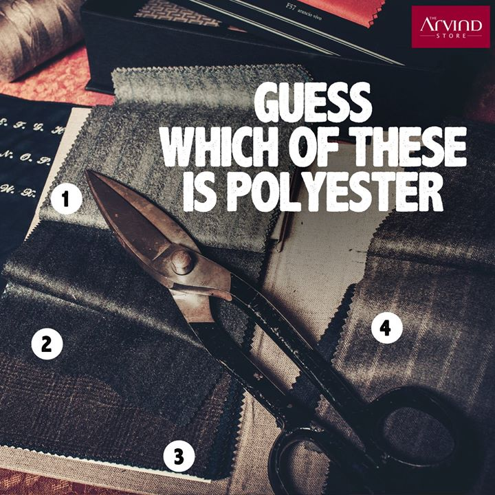 The five most common clothing materials are linen, cotton, polyester, and rayon. #DidYouKnow