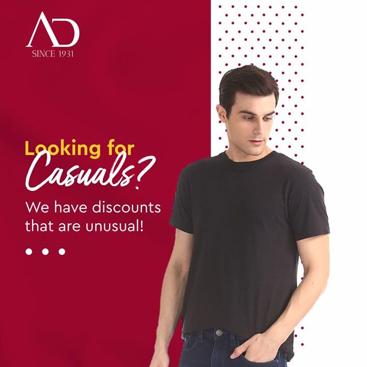 Our Ready To Wear collection is a perfect combination of casual and comfortable clothing. Get it for yourself from The Arvind Store near you. . . #menstrend #flatlayoftheday #menswearclothing #guystyle #gentlemenfashion #premiumclothing #mensclothes #everydaymadewell #smartcasual #fashioninstagram #dressforsuccess #itsaboutdetail #whowhatwearing #thearvindstore #classicmenswear #mensfashion #malestyle #authentic #arvind #menswear #EndOfSeasonSale #SaleOn #upto50percentoff #discounts #flashsale #dealon #saleanddiscounts #saleatarvind