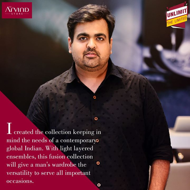 Wondering what brought Arvind's signature luxurious fabrics & Kunal Anil Tanna's intricate aesthetics together? Let's hear it from the man himself – Kunal Anil Tanna