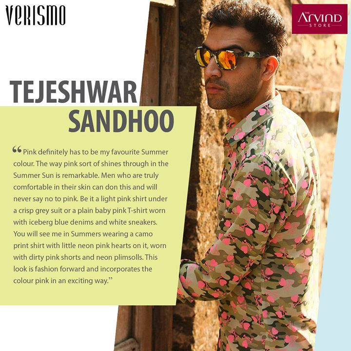 Here's what #FashionBlogger Tejeshwar Sandhoo of Blueberry Blackout has to say about his favourite #Summer colour. #Trends #UncoverChange