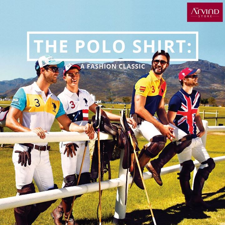#DidYouKnow The button-down Polo shirts were invented by #Polo players in the late 19th century!