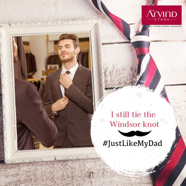We all have that one style we have adapted from our dad, that still remains with us.  Share with us a photo with your father and tell us about that unique style in the comment section with #JustLikeMyDad. #Contest