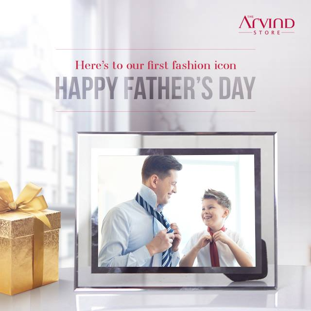 From trying on his jacket as a child to borrowing it for an interview, we have always aspired to fit into his persona.  #HappyFathersDay