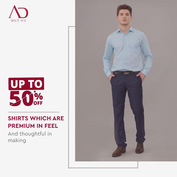 Comfortable apparel means a good day.   Presenting Wrinkle-Resistant Shirts that let you experience true clothing comfort.  Visit your nearest The Arvind Store and check out for more and better discounts End of Season Sale is ON!  #menstrend #flatlayoftheday #menswearclothing #guystyle #gentlemenfashion #premiumclothing #mensclothes #everydaymadewell #smartcasual #fashioninstagram #dressforsuccess #itsaboutdetail #whowhatwearing #thearvindstore #classicmenswear #mensfashion #malestyle #authentic #arvind #menswear #EndOfSeasonSale #SaleOn #upto50percentoff #discounts #flashsale #dealon #saleanddiscounts #saleatarvind