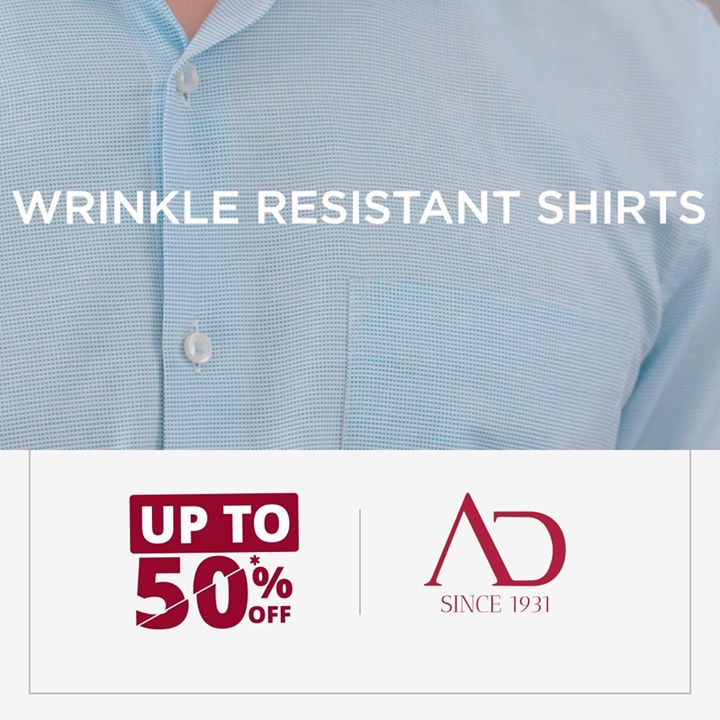 Whether you run, jump or cycle; our wrinkle-resistant shirts are designed to stay the way they are. Now, hustle worry-free every day and look your best even at the end of the day.  P.S. Our wrinkle-resistant shirts are available at amazing discounts at The Arvind Stores near you!  End of Season Sale is ON!  . . #menstrend #flatlayoftheday #menswearclothing #guystyle #gentlemenfashion #premiumclothing #mensclothes #everydaymadewell #smartcasual #fashioninstagram #dressforsuccess #itsaboutdetail #whowhatwearing #thearvindstore #classicmenswear #mensfashion #malestyle #authentic #arvind #menswear #EndOfSeasonSale #SaleOn #upto50percentoff #discounts #flashsale #dealon #saleanddiscounts #saleatarvind