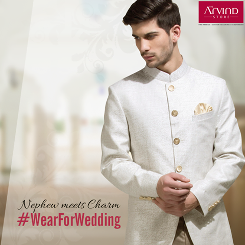 A nephew is often pampered and has a special place in everyone's heart. What he wears should be equally winning.  Here's your chance to win big! All you have to do is, tell us your #WearForWedding and why?  http://bit.ly/WearForWedding