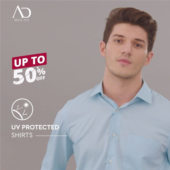 The UV rays and heat harm your skin and don't let you hustle in comfort, which is why we have crafted UV protected shirts. Safe skin means you are happy and that's what we aim for.   P.S. Our UV protected shirts are available at amazing discounts at The Arvind Stores near you!  End of Season Sale is ON!  . . #menstrend #flatlayoftheday #menswearclothing #guystyle #gentlemenfashion #premiumclothing #mensclothes #everydaymadewell #smartcasual #fashioninstagram #dressforsuccess #itsaboutdetail #whowhatwearing #thearvindstore #classicmenswear #mensfashion #malestyle #authentic #arvind #menswear #EndOfSeasonSale #SaleOn #upto50percentoff #discounts #flashsale #dealon #saleanddiscounts #saleatarvind