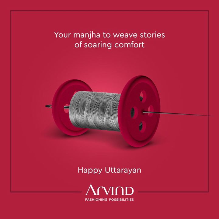 Let's weave stories where comfort soars as high as kites. We wish you a very Happy Uttarayan! . . #whowhatwearing #thearvindstore #classicmenswear #mensfashion #malestyle #authentic #arvind #menswear #EndOfSeasonSale #SaleOn #upto50percentoff #discounts #flashsale #dealon #saleanddiscounts  #uttarayan #uttaryan2020 #uttarayanlove #happyuttarayan #makarsankranti
