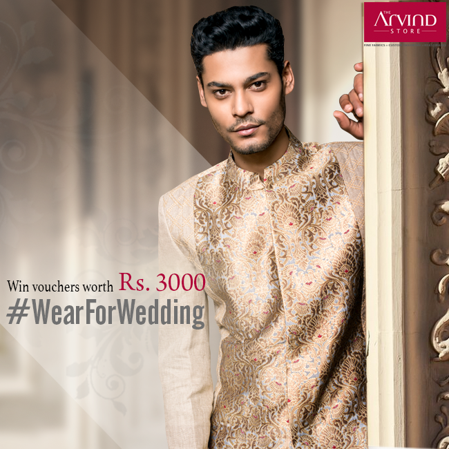 Here's your chance to win big! All you have to do is, tell us your #WearForWedding and why? Don't miss out!  To know more, visit: http://bit.ly/WearForWedding
