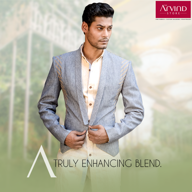 This finely stitched jacket will undoubtedly embellish your ethnic wear, a fusion meant to be. More wedding collection at http://bit.ly/TAS_Locator