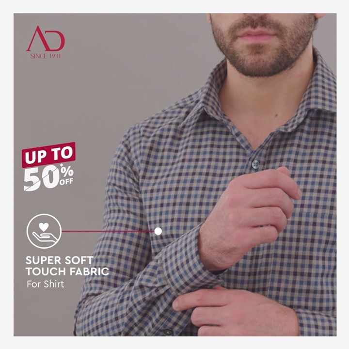 A soft touch, seamless wear.  An all-weather flannel shirt has thicker weaves, finer feel and is more durable. These are the shirts you have been looking for, so make them yours.  All-weather flannel shirts are currently available on great discounts. Buy them from The Arvind Stores near you.  . . #menstrend #flatlayoftheday #menswearclothing #guystyle #gentlemenfashion #premiumclothing #mensclothes #everydaymadewell #smartcasual #fashioninstagram #dressforsuccess #itsaboutdetail #whowhatwearing #thearvindstore #classicmenswear #mensfashion #malestyle #authentic #arvind #menswear #EndOfSeasonSale #SaleOn #upto50percentoff #discounts #flashsale #dealon #saleanddiscounts #saleatarvind