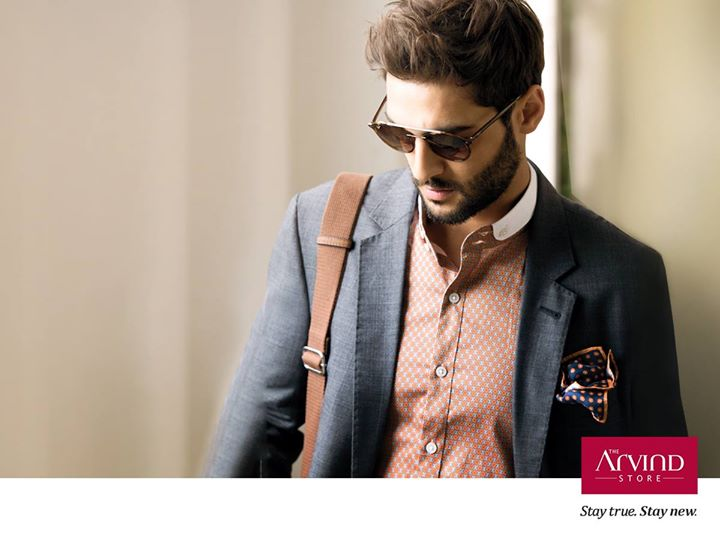 Be the man of the hour with this dapper ensemble that reflects your suave personality. #StayTrueStayNew  Visit: http://bit.ly/TAS_Locator