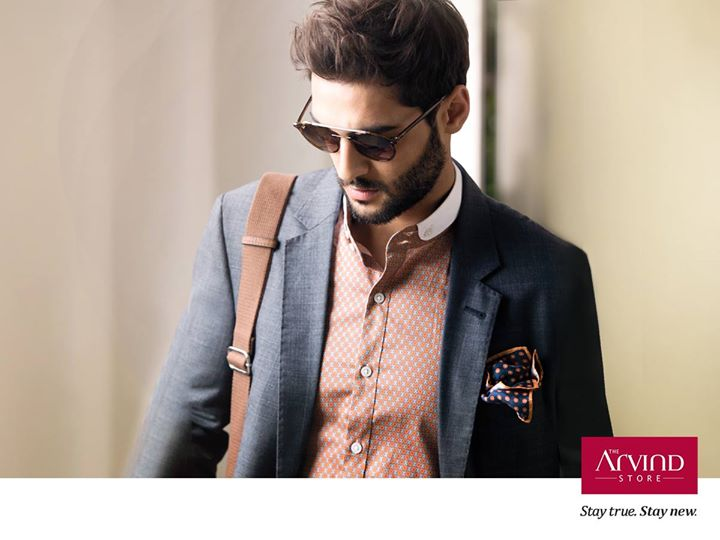 Add a dash of bling to your festive celebration with this urbane yet classic outfit.  #StayTrueStayNew  Click to know more:  http://bit.ly/TAS_Locator