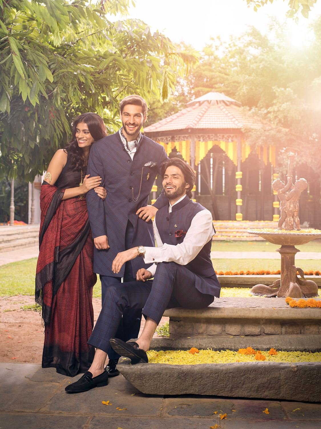 5 new ways to steal the show at any wedding event. #IndianWedding #TheArvindStore #FashionForMen #WeddingSeason #WeddingCollection #DapperIndian #BestMan #Ceremonial GQ India