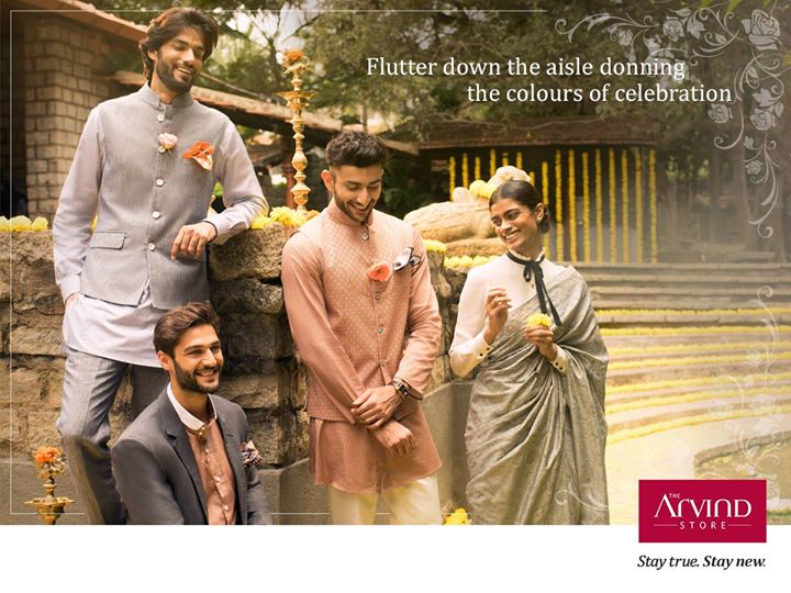 For that special day of your life, we bring to you outfits that reflect the true essence of your light-hearted moments.   Visit our stores today:  http://bit.ly/TAS_Locator  #GroomedToPerfection #StayTrueStayNew