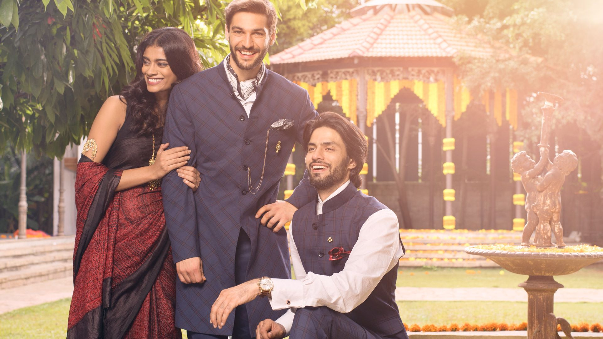 5 new jacket choices to keep your wardrobe mojo intact. #IndianWedding #TheArvindStore #FashionForMen #WeddingSeason #WeddingCollection #DapperIndian #BestMan #Ceremonial GQ India