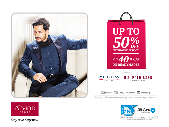 The Arvind Store,  StayTrueStayNew