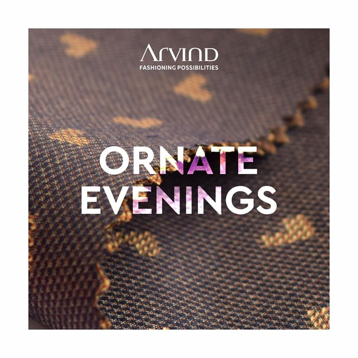 Some evenings are special. Those evenings where you smile a little more. Where you celebrate in every sense. We have special textiles for those evenings.  It's time you indulge in custom tailoring service at The Arvind Store. Pick a fabric of your choice, give us measurements and let us create the comfiest clothing for you! . . . #gentlemenfashion #premiumclothing #mensclothes #everydaymadewell #smartcasual #fashioninstagram #dressforsuccess #itsaboutdetail #whowhatwearing #thearvindstore #classicmenswear #mensfashion #malestyle #authentic #arvind #menswear #customshirts #customtailoring #bespoketailoring