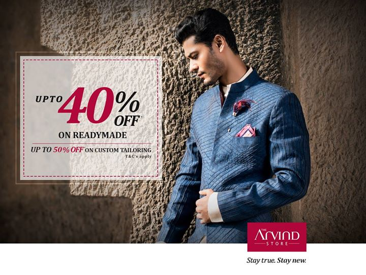 Uplift your weekday spirit with this exciting offer from The Arvind Store! Offer ends this weekend! Only valid before this weekend!  T&C's: http://bit.ly/EOSSTAS  #StayTruestayNew #TheArvindStore