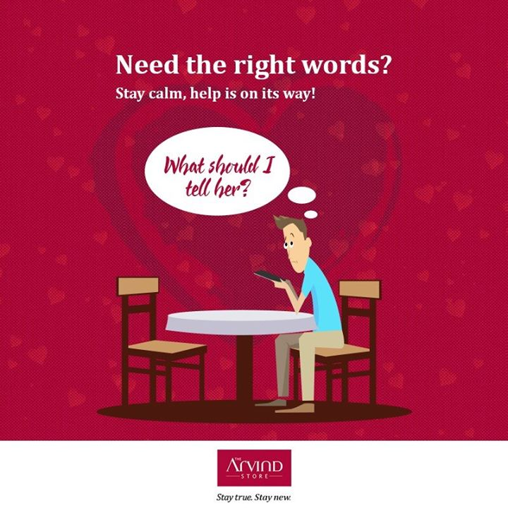 Hope you know what you are telling your loved one this Valentine's Day. If not, keep watching the page for more!