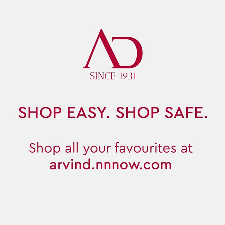 To make this stressful time a little easier, we've made ourselves available online at arvind.nnnow.com.   Let's do our part, STAY SAFE, STAY HOME and SHOP ONLINE! . . #covid19 #corona #coronavirus #stayin #stayinghome #quarantine #selfisolation #thearvindstore #nnnow #shoponline