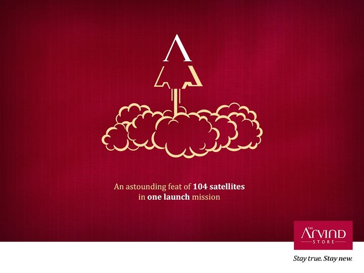 The Nation raises its head with true pride to salute the pinnacle of ISRO's new achievement.  #ISRO #PSLVC37 #StayTrueStayNew
