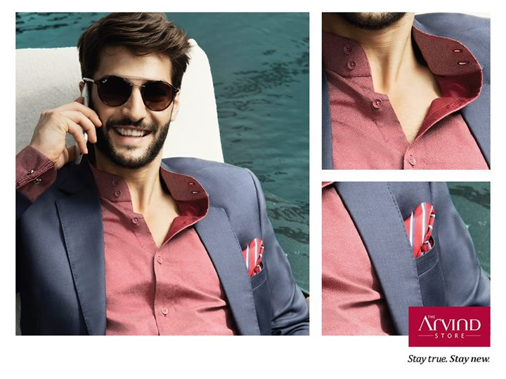 A smart casual look that will pull off your uptown style with ease. Get this look at: bit.ly/TAS_Locator #StayTrueStayNew #TheArvindStore