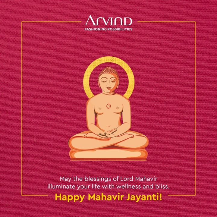 May Lord Mahavir light up your lives during these dark times. We wish you a very Happy Mahavir Jayanti. . . #gentlemenfashion #premiumclothing #mensclothes #everydaymadewell #smartcasual #fashioninstagram #dressforsuccess #itsaboutdetail #whowhatwearing #thearvindstore #classicmenswear #mensfashion #malestyle #mahavir #mahaveer #mahaveerjayanti #mahaveerjayanti2020 #mahavirswami