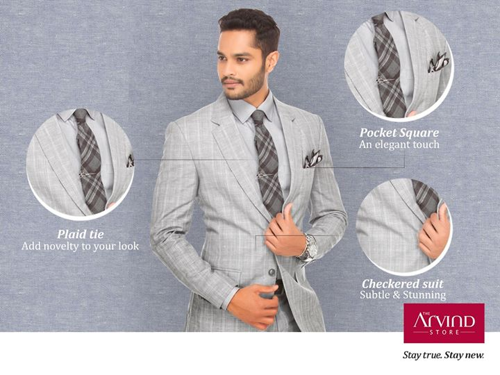 A sharp checkered suit on any given day is your style statement to make a lasting impression. Tell us what's your style of a checkered outfit in the comments. Visit: bit.ly/TAS_Locator
