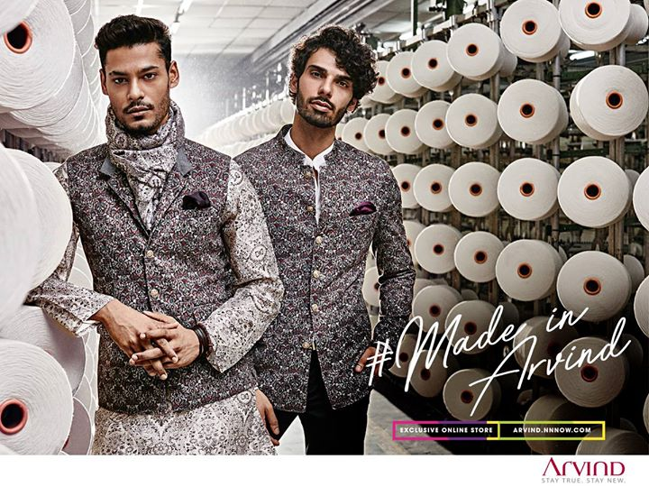 Transforming fabric to fashion has always been the center stage of our 86 year legacy. Witness the perfect blend of fine craftsmanship and innovation in our exclusive Ready To Wear collection. #ReadyToWear #MadeInArvind Take a peek: http://bit.ly/ShopReadyToWear