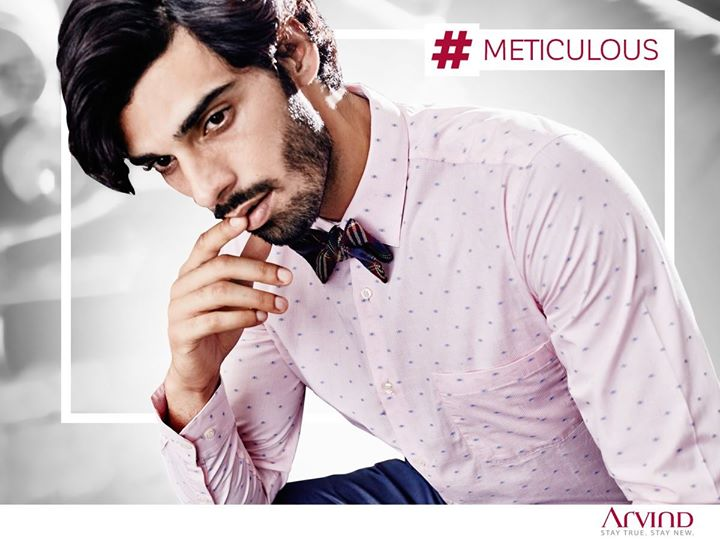 Our shirt from #ReadyToWear collection is a modern day essential for a modern day man. #MadeInArvind