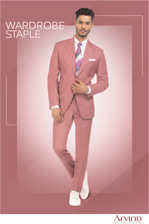 Being outstanding is good, but standing-out is better. Take a step away from the usual and get ready for the next ceremony by donning this suit from our #ReadyToStitch collection.