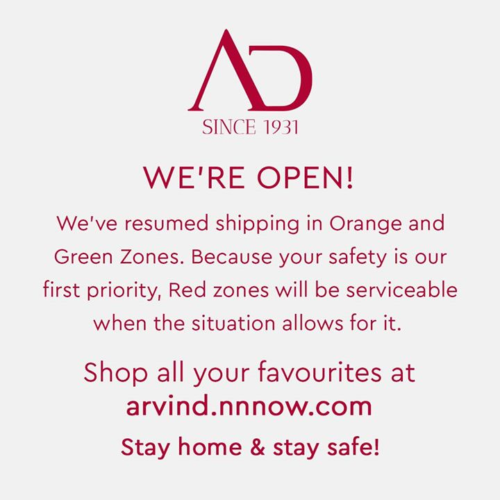 We are together in this #newnormal and are now fully operational in orange and green zones with prior precautionary and safety measures to ensure your safety.   You can also shop online at arvind.nnnow.com.  Shop Easy and Stay Safe! . . . #ArvindMenswear #Arvind #TheArvindStore #smartcasual #fashioninstagram #dressforsuccess #itsaboutdetail #whowhatwearing #thearvindstore #classicmenswear #mensfashion #malestyle #selfisolation #lockdown2020 #positivevibes #positive #positivemindset #openforbusiness #nowopen