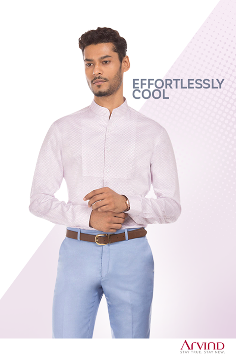 A shirt that let's you standout in style without you even saying a word.