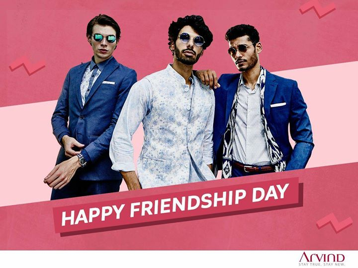 Celebrating the bond that is bright, beautiful, valuable and special. Happy Friendship Day to everyone! #HappyFriendshipsDay