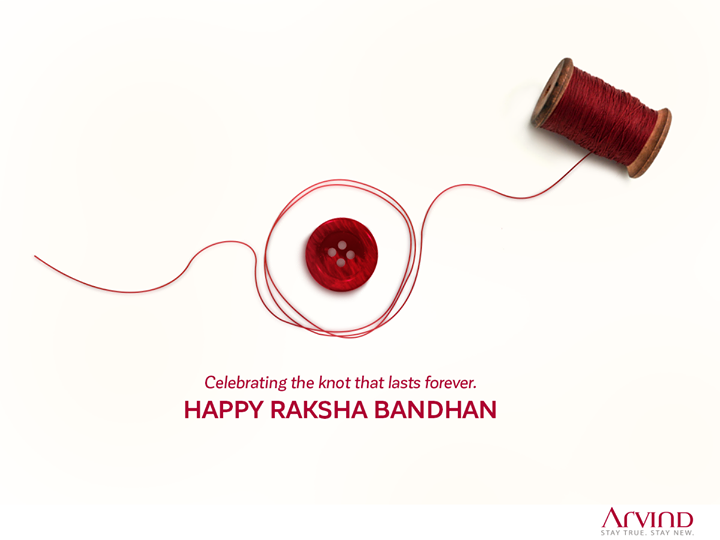 May the knot of love, trust, happiness and togetherness keep getting stronger with each passing day. #HappyRakshaBandhan
