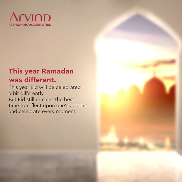 The holy month of Ramadan was different this year, and the celebration of Eid will be different too. However, Eid remains the day to peep into our lives and actions and enjoy every moment. Just a few more days and we will be celebrating Eid, though a bit differently! . . #ArvindMenswear #Arvind #TheArvindStore #smartcasual #fashioninstagram #dressforsuccess #itsaboutdetail #whowhatwearing #thearvindstore #classicmenswear #mensfashion #malestyle #selfisolation #lockdown2020 #positivevibes #positive #positivemindset ##eidmubarak #eid2020 #ramadan #ramadan2020 #ramadanmubarak