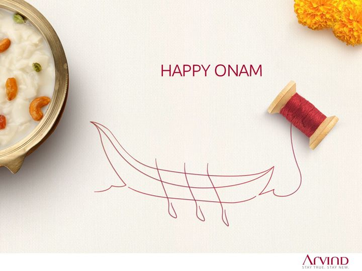 On this auspicious day, may your life be filled with love, colours and happiness. Wishing everyone a very #HappyOnam
