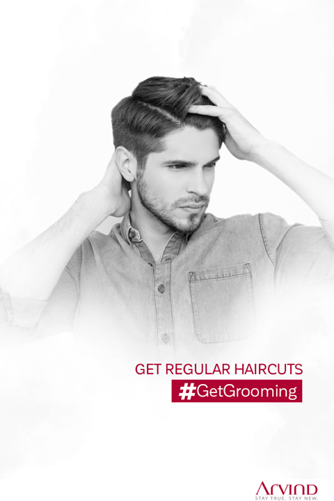 Try new haircuts every time to look different and stylish, effortlessly. #GetGrooming