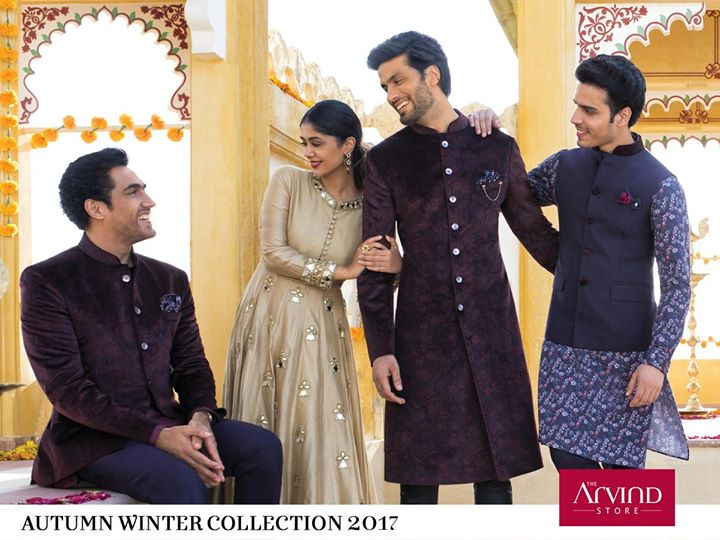 Enhance every bit of your celebration with our Autumn Winter collection and make heads turn. Check out our latest Autumn Winter collection.