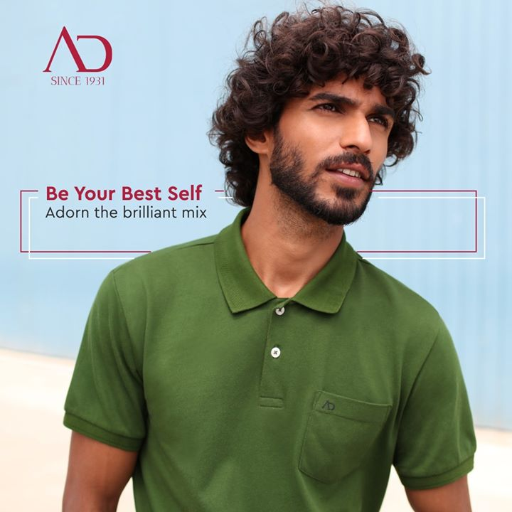 With long-lasting colour technology, adorn the genius mix of colours with confidence. Olive green polo-neck t-shirt by Arvind is perfect for The Unstoppables. The ones who keep moving ahead even when everything seems to be paused.  Available at your nearest The Arvind Store. . . #ArvindMenswear #Arvind #TheArvindStore #TheUnstoppables #smartcasual #fashioninstagram #dressforsuccess #itsaboutdetail #whowhatwearing #classicmenswear #mensfashion #malestyle #StylishMen #indianstyleblogger #fashionnova