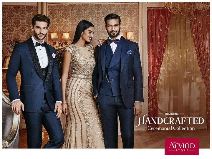 Introducing our latest Handcrafted Ceremonial collection for you to celebrate every moment and flaunt it in style. To know more, book an appointment at http://bit.ly/TASBookAnAppointment